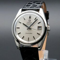 Omega Seamaster Chronometer Vintage Overhaul Date Cal.1011 Automatic Mens Watch