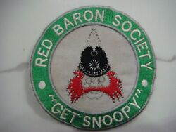 USAF RED BARON SOCIETY GET SNOOPY PATCH