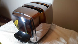 Vintage Chrome Sunbeam T-20b Toaster 1950s Excellent Condition
