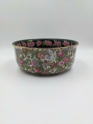Crown Ducal Roseland Chintz Round Serving Bowl