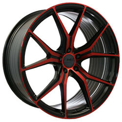 22x8.5 22x10 5-112 Str907 Staggered Magic Red Made For Bmw 2015 Or Newer Bmw 7