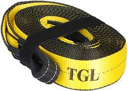 Tgl 3 Inch 20 Foot Tow Strap 30000 Pound Capacity With Reusable Storage Strap