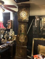 Antique French Morbier Clock