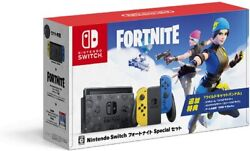 Nintendo Switch Fortnite Special Set With A Box Japan Fortnite Battle Royale New