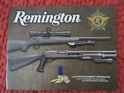 2010 Remington La w Enforcement Firearms Ammunition Accessories NEW 39 pages