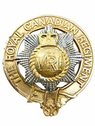 Canadian Forces Rcr Royal Royal Canadian Regiment Pipers Band Badge