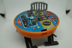Vintage Mechanical Toy On The Topic Of Space On A Turnkey Basis