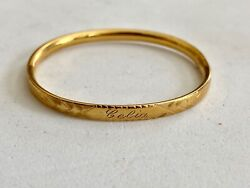Vintage- Solid 10k Yellow Gold 5 Baby's Bengal, See Other Gold Jewelry And Coins
