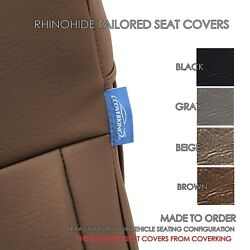 Rhinohide - Pvc Heavy Duty Synthetic Leather Seat Covers For Vw Atlas