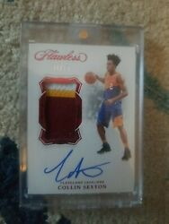 2018 Panini Flawless Collin Sexton Rc 8/15 Auto Patch Vp-csx Rookie Invest 📈🔥