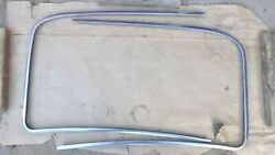 1947 1953 Chevy Truck Outside Windshield Stainless Trim Moldings Original Gm Pr
