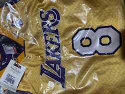 Xl Kobe Bryant Hall Of Fame Special Edition Mitchell Ness Reversible Jersey