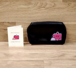Mary Kay MK Logo Girlfriend Makeup Cosmetic Travel Bag Pouch Black Pink Small $11.00