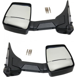 For Ford E-150/e-250 Econoline Club Wagon Mirror 1992-2002 Lh And Rh Pair Manual