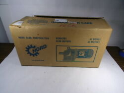 Nord 1.5hp 1740rpm 332/575v 90 Tefc 3ph 3.03/1.75a C/w Brake And Reducer New