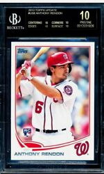 Anthony Rendon 2013 Topps Update Us8 Rc Bgs 10 Black Label - Pop 1