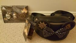 Disney Minnie Main Attraction Pirates Of The Caribbean Bag With Mma Tag And Pins
