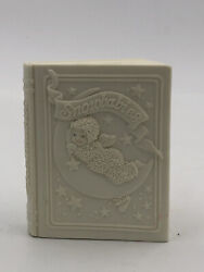 Snowbabies Bank Dept 56 Winter Tales Book By J. Frost Has Some Snow Loss Used