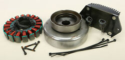 Cycle Electric 80 Series 50 Amp Alternator Kit W/ Stator And Reg/rec Ce-84t-09