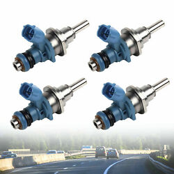 Used 4pcs Oeme7t20171 Fuel Injector For Mazda Speed 3 6 Cx-7 Turbo 2.3l