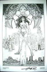 Signed George Perez - Limited Art Print 1986
