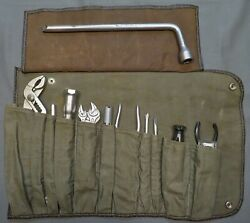 Complete Mercedes W113 230 250 280 Sl Factory Tool Kit-100 Original And Correct
