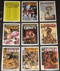 Conan The Barbarian The Savage Sword © 1988 Comic Images Complete 50 Card Set