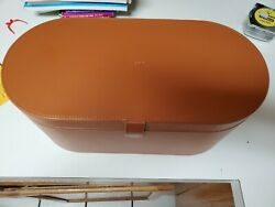 Dyson Airwrap Tan Leather Case Only Used And Instructions