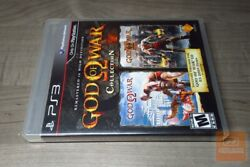 God Of War Collection 1st Print Playstation 3 Ps3 2009 Factory Sealed - Rare