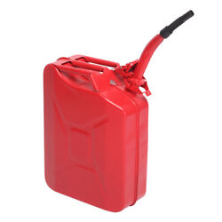 Jerry Can 5 Gallon Cold-rolled Plate Diesel Can Gasoline Bucket With Spout Red