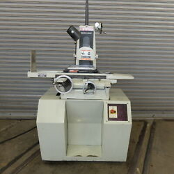 6 X 12 Harig Hand Feed Surface Grinder W/roller Bearing Table Model