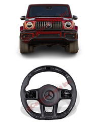 W463a Forged Carbon Fiber Led Steering Wheel Mercedes G-class W464 G63 G500 G550