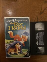 The Fox And The Hound Vhs D The Classic
