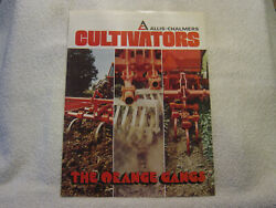 Allis Chalmers 1200 1300 90 Rotary Cultivators C 1976 Brochure Aed 447-7604