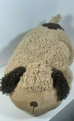 Authentic Pillow Pets Large 18quot; Clean amp; Soft Golden Brown Plush Dog