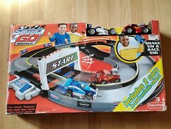 Fisher Price Shake N Go Speedway New In Unopened Box. Shake 'em And Race 'em