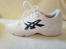 Asics Cheer Iv 4 Womens Shoes White Qy665 Size 9 Lightweight Cushioned Nwt