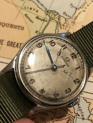 Omega 1940s Military Hs8 Fleet Arm Pilots Watch Rare Watch And Going Up In Value