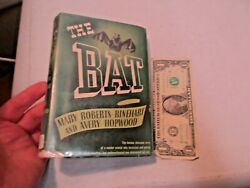 1942 The Bat By Mary Roberts Rinehart And Avery Hopwood Hardcover Book W Dust Covr