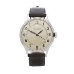 Jaeger-lecoultre Vintage Stainless Steel Watch P478 33mm Com002628