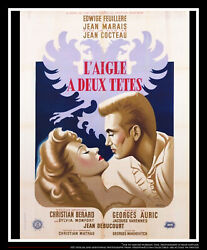Eagles Has Two Heads Style A 4x6 French Grande Original Movie Poster 1948