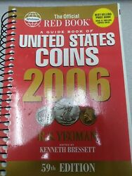 The Official Red Book Of Guide Book Of United States Coins 2006 By R.s.yeoman