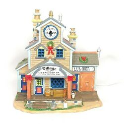 Lemax Village Vail Limited Edition 2008 Village Hardware Co. Lighted Building