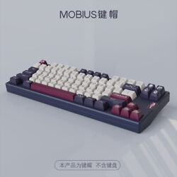 Customized Domikey Sa Abs Mobius Keycap Set For Cherry Mechanical Keyboard Stock