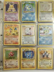 1999 Base Set Unlimited And Other Vintage Wotc Sets - Pokemon - Choose Your Card