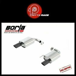 Borla 11887bc - Fits 15-17 Mustang Gt/gt Convertible 5.0l Axleback Exhaust Stype