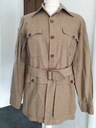 Very Rare Ww2 Theatre Made Usaaf Cbi Tunic With Theatre Patches And Named Docs