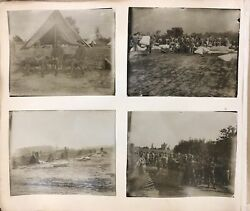 Wisconsin Family Photo Album Wwi Soldier Training Camp