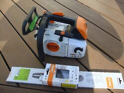Genuine Stihl Ms 200t Ms200t 020t Professional Top Handle Chainsaw W/ 14 Bar