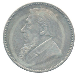 1894 South Africa 1 Shilling Km 5 Choice Extra Fine Xf+ Condition Coin